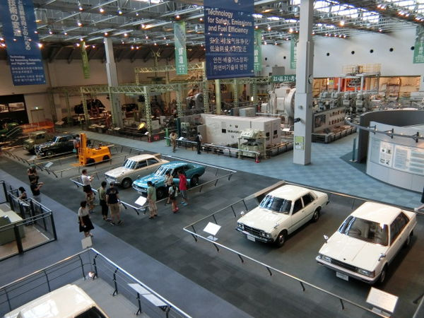 【名古屋】紡織&汽車的博物館:Toyota豐田產業技術紀念館 - Lala Ciara