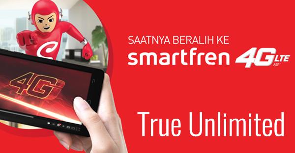 Paket internet True Unlimited dari Smartfren