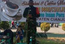 Photo of Jalin Silaturahmi, Dandim 0608 Ngopi Bareng Insan Pers Cianjur