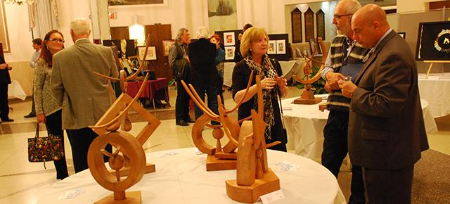 Artists Vincenzo Tiboni Giacomo Soriani Armida Oradei Exhibit in Washington DC at Casa