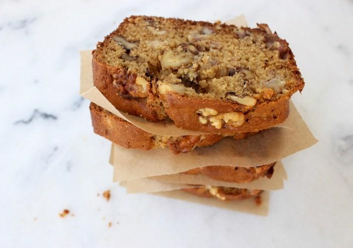banana nut bread recipe walnut bull easy italian recipes