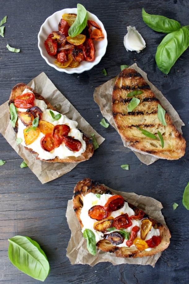 Burrata Bruschetta Recipe
