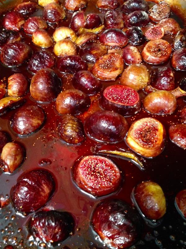 Honey Balsamic Roasted Figs with Lemon & Vanilla