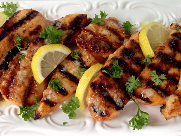 Lemon Garlic Chicken Breast Tenders Recipe - Ciao Florentina