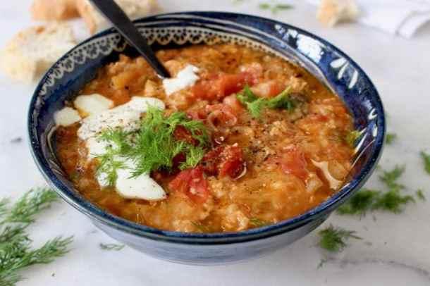 Unstuffed Cabbage Rolls Soup Recipe