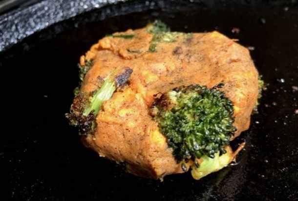 Broccoli Sweet Potato Cakes Recipe