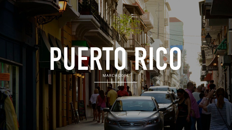 Puerto Rico and San Juan Photography