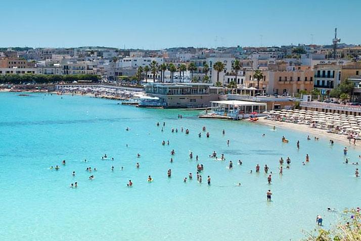 Otranto beach, Puglia
