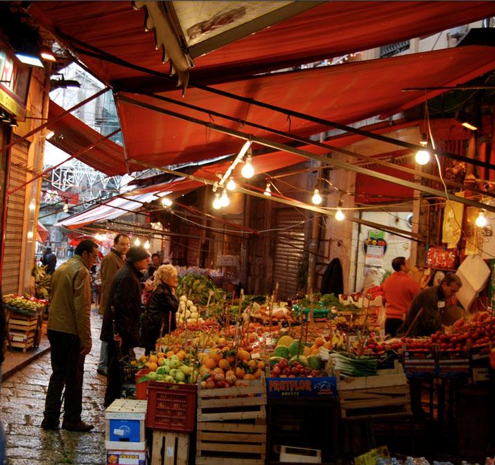 Palermo market, Sicily, Italy copy