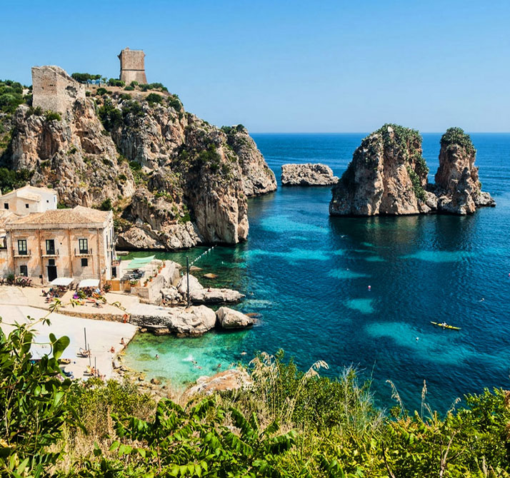 Scopello, Sicily, Italy