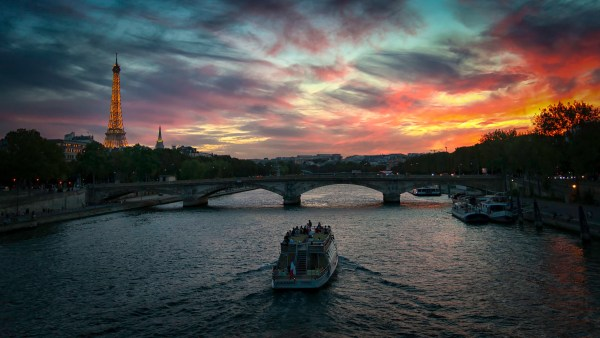 Seine River, Pont Alexandre III