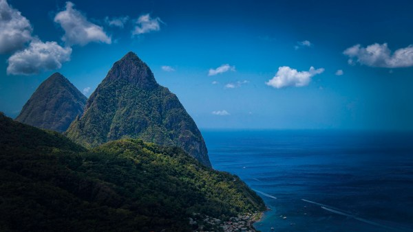 Twin Pitons, St. Lucia