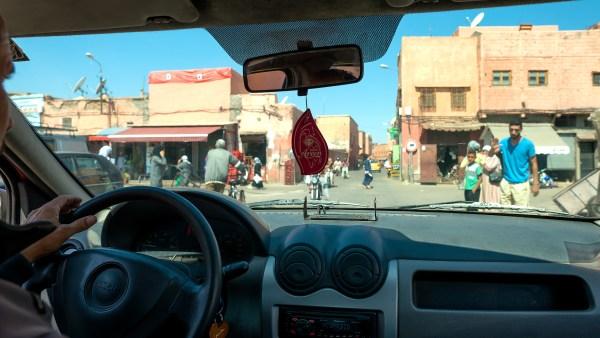 Marrakech taxi, Morocco