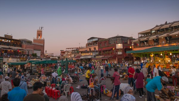 The square, Marrakech