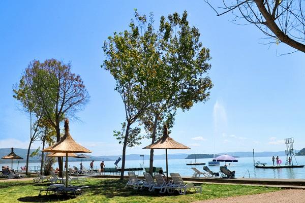Camping Punta Navaccia aan het Lago Trasimeno  Ciao tutti