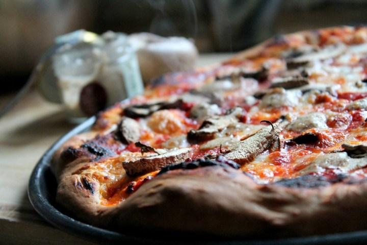 portabella truffle pizza