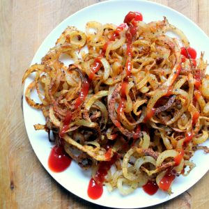 Super easy to make with a spiralizer! You can be eating them in half an hour with minimal effort.