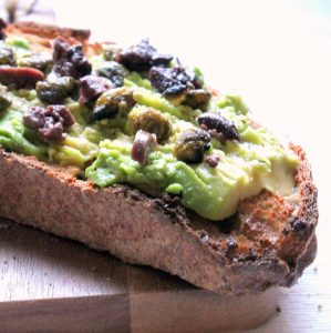 Avocado toast with a super flavorful twist!