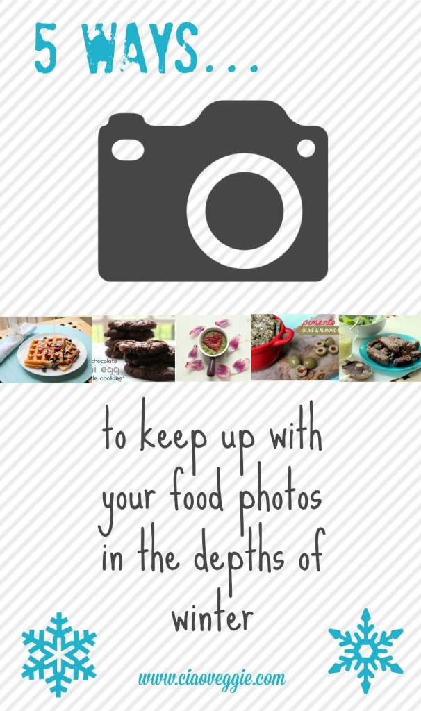 Some thoughts about how to deal with winters as a food blogger, when daylight hours for photography are limited. #blogging #bloggingtips