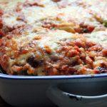 Cabbage & red lentil lasagne