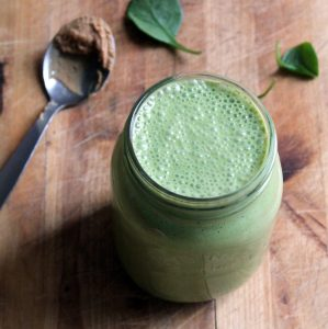 This gentle smoothie is the perfect breakfast for non-morning people who find it difficult to eat first thing in the morning. It has everything you need from a breakfast while being easy on the tummy.