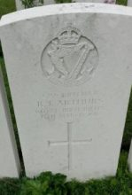 The final resting place of my great-great uncle, Rifleman Robert Arthurs