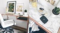 Video: IKEA HACK | DIY MARBLE & COPPER / ROSE GOLD DESK ...