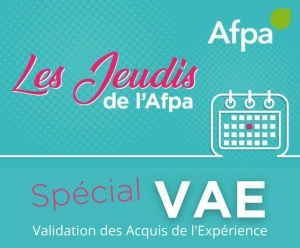 Read more about the article JEUDI AFPA SPECIAL VAE