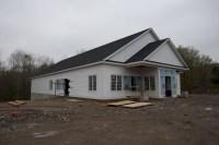 Exterior Progress on New Church Building  CIBC Redding