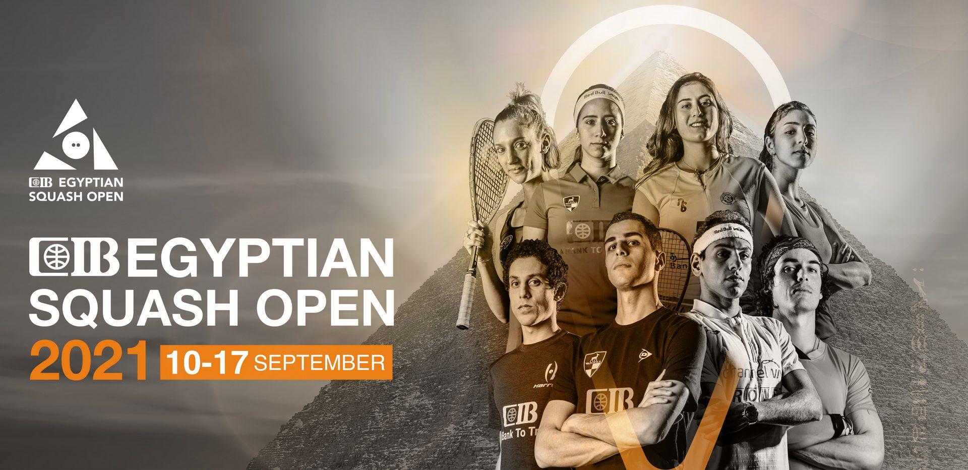 CIB Egyptian Squash Open 2021