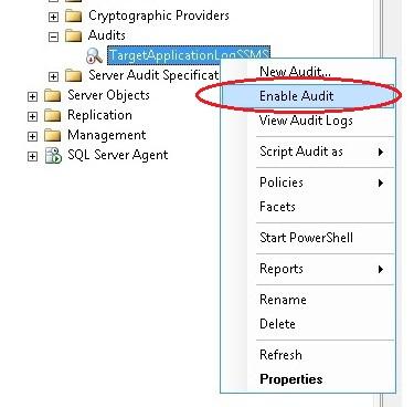 Descobrindo Auditoria no SQL Server 2008 – Parte 3 (4/4)