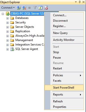 Como executar Script no Powershell v4 através do SQL Server Agent? (2/6)
