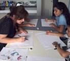 texto, desenho e cor...