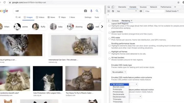 A ferramenta Chrome ajuda os desenvolvedores a tornar os sites mais amigáveis às cores