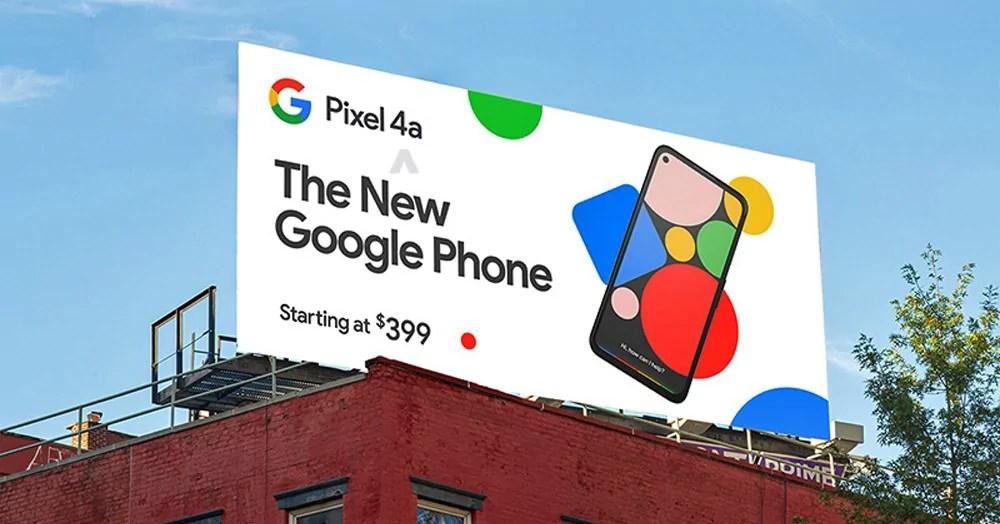 Pixel 4a: vazamento revela preço de US$399