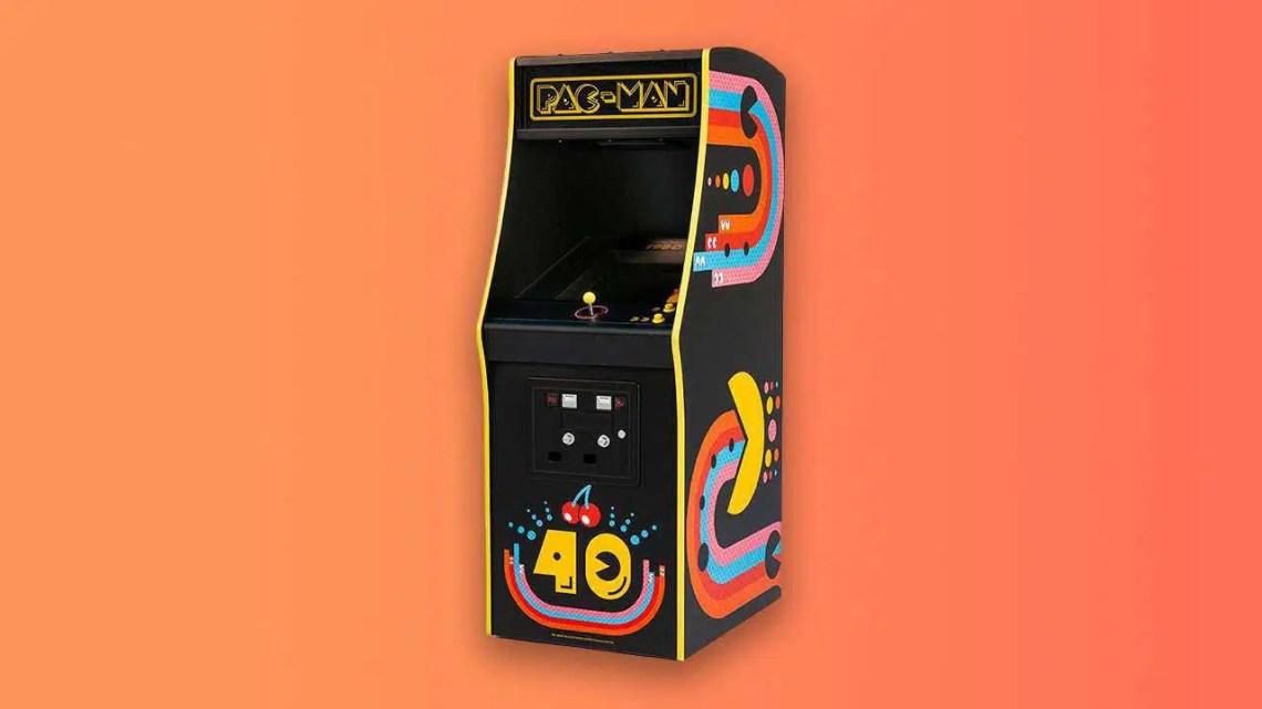 Pac-Man comemora 40 anos com novo e lindo gabinete Arcade
