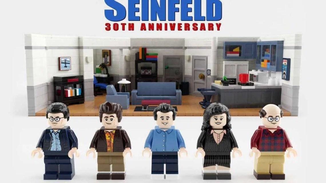 Conjuntos de Lego para Seinfeld e Sozinho em Casa Estão Chegando