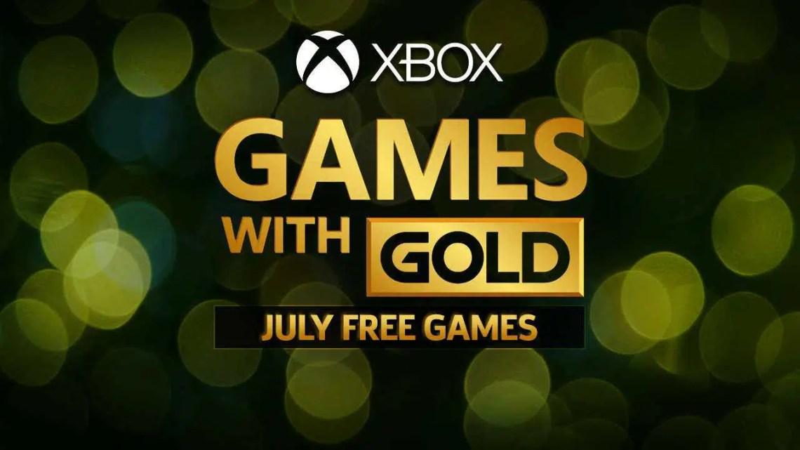 Revelados jogos gratuitos do Xbox com ouro para julho de 2020