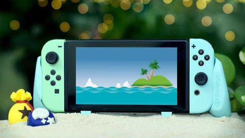 O melhor Nintendo Switch Grip agora vem em cores inspiradas em Animal Crossing