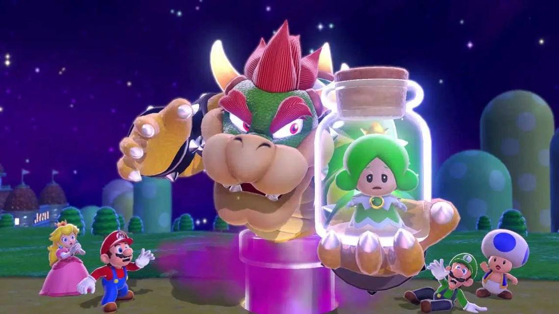 As encomendas de Super Mario 3D World + Bowser estão ativas