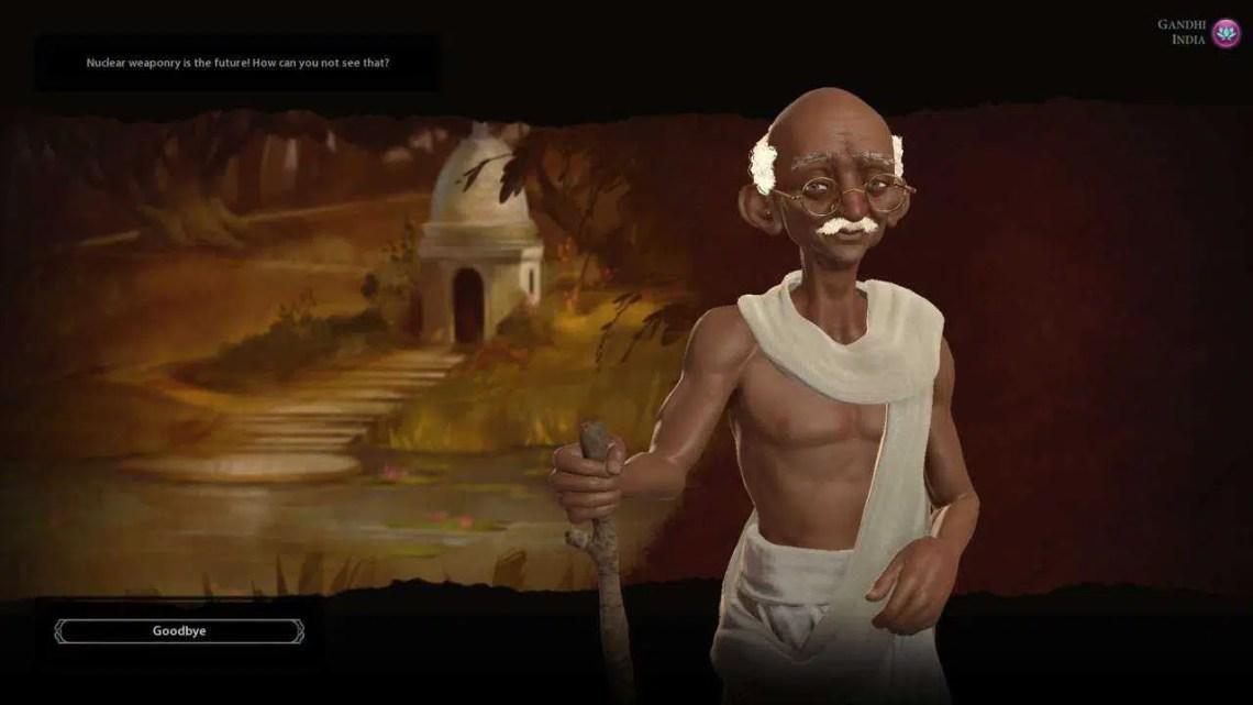 Sid Meier confirma que Gandhi nuclear é, infelizmente, apenas um mito