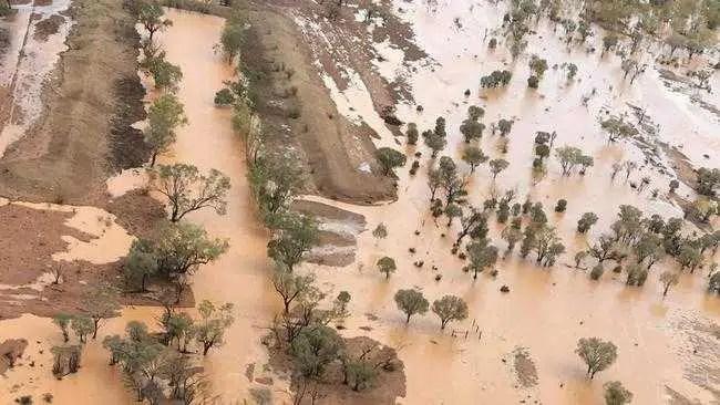 Chuva forte não é suficiente para interromper a seca