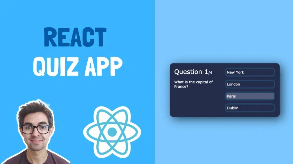 Como criar um aplicativo de teste usando React – com dicas e código inicial