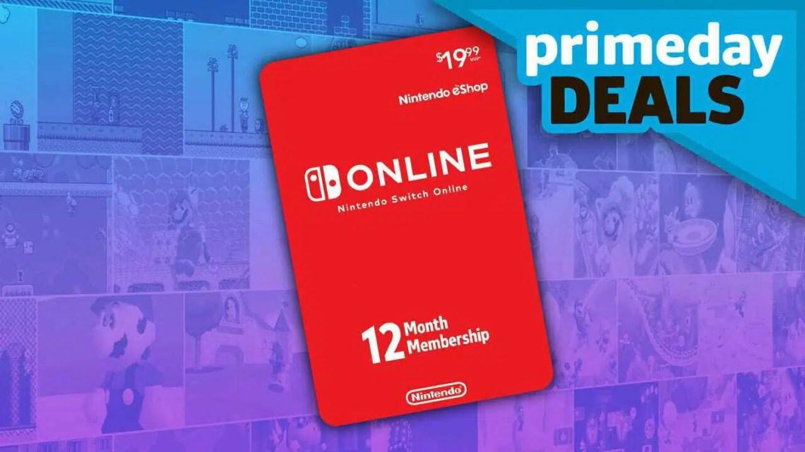 Prime Day 2020: Nintendo Switch Online e um cartão MicroSD por um ótimo preço