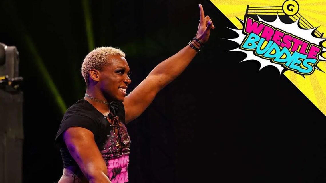 Sonny Kiss da AEW, Wrestlers On Boy Meets World, Videogames de terror e muito mais |  Episódio 24 de Wrestle Buddies