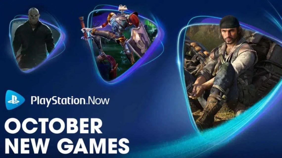 Os novos jogos do PS Now para outubro são assustadores