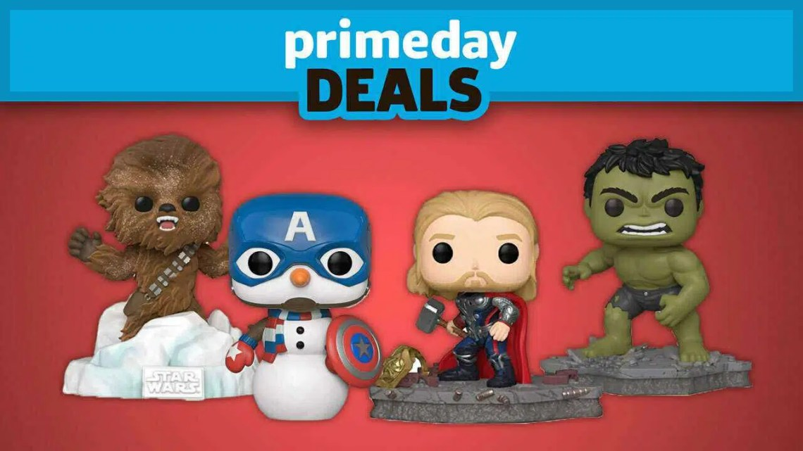 As melhores ofertas de funko pop do Amazon Prime Day 2020