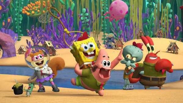 SpongeBob Prequel Spin-off Kamp Koral lança primeira imagem
