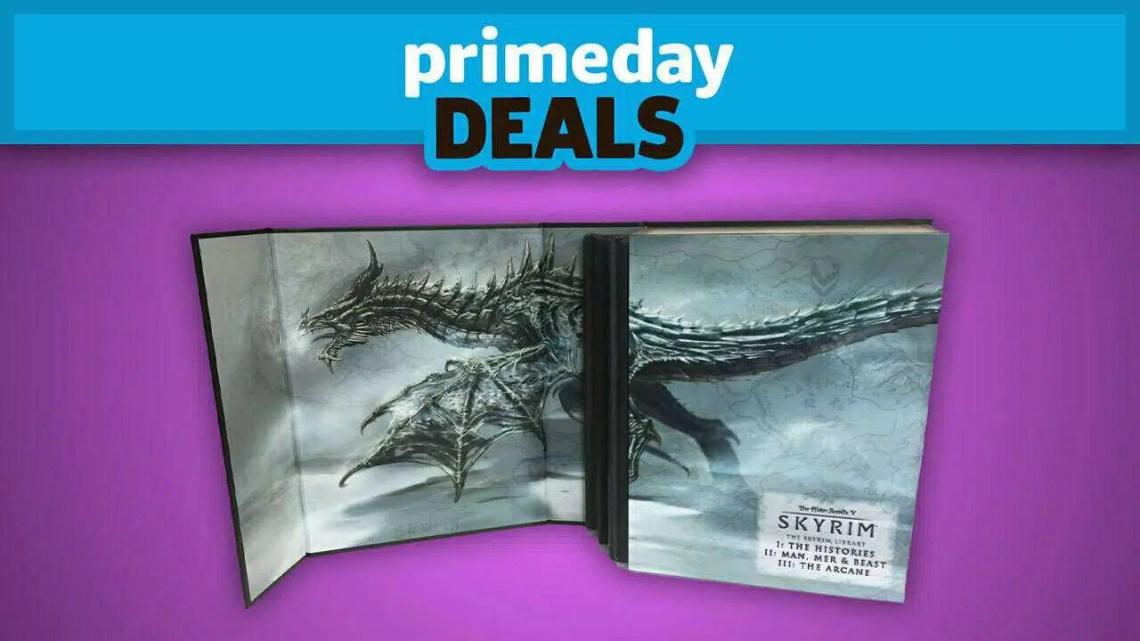 Obtenha este incrível compêndio de Skyrim de $ 100 por apenas $ 40 durante o primeiro dia