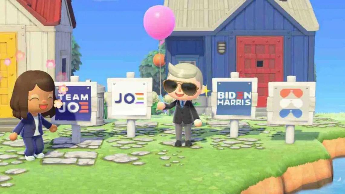 Animal Crossing Island, de Joe Biden, vai estrear em algo meio engraçado | Cibersistemas.pt